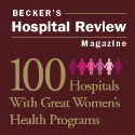 Award- 100 Hospitals with Great Women's Programs