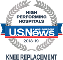 Mercy Medical Center - High Performing for Knee Replacement